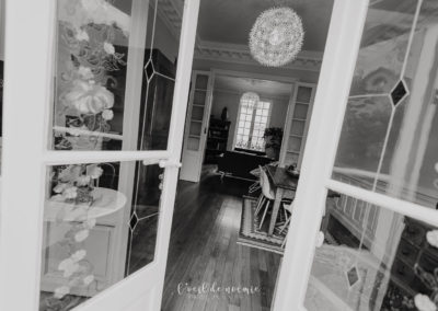 Salon de la Villa Prince d'Annam Chambre d'hôtes à Vichy